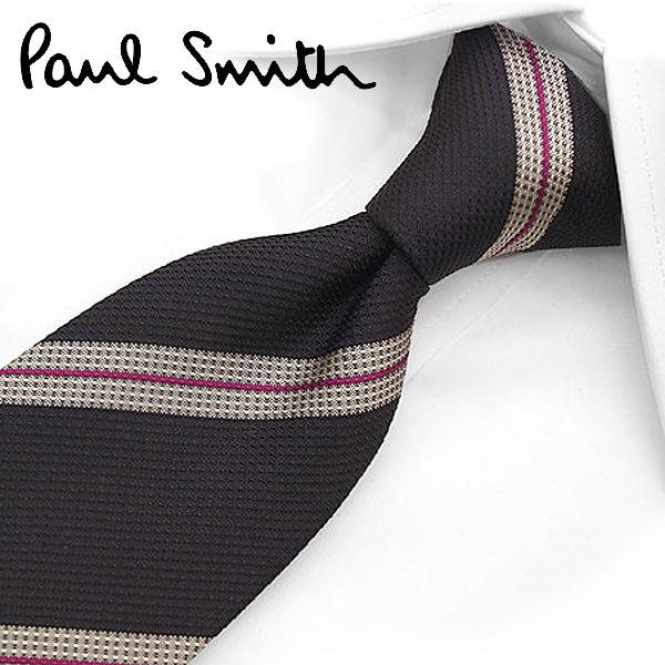 ポールスミス ネクタイ(8cm幅) PS41 【Paul Smith・ポールスミスネクタイ・ネクタイ ブランド】 ネイビー/グレー【送料無料】