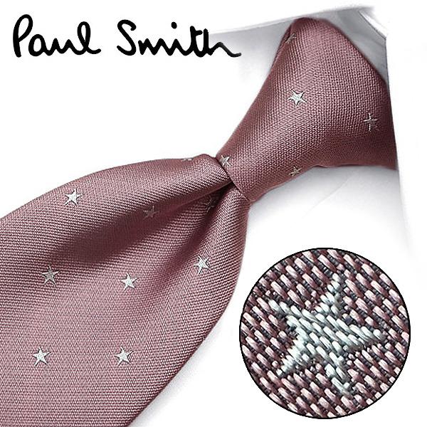 ポールスミス ネクタイ(8cm幅) PS55 【Paul Smith・ポールスミスネクタイ・ネクタイ ブランド】 ピンク/ライトグレー【送料無料】