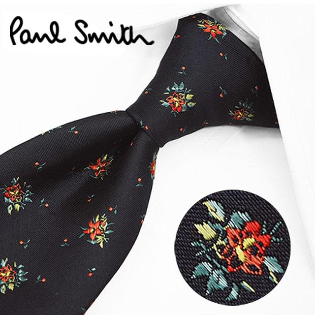 ポールスミス ネクタイ(8cm幅) PS82 【Paul Smith・ポールスミスネクタイ・ネクタイ ブランド】 ネイビー/オレンジ【送料無料】