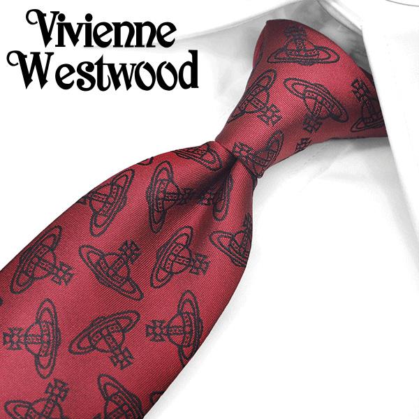 ヴィヴィアン ウエストウッド ナローネクタイ(7cm細幅) VW162 【Vivienne Westwood・ヴィヴィアンネクタイ・ネクタイ ブランド】 ヴィヴィアンウエストウッド ネクタイ レッド/ブラック