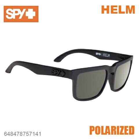 SPY スパイHELM ヘルム648478757141SOFT MATTE BLACKサングラス メンズ レディース ユニセックス 偏光レンズ スポーツ ファッション オシャレ