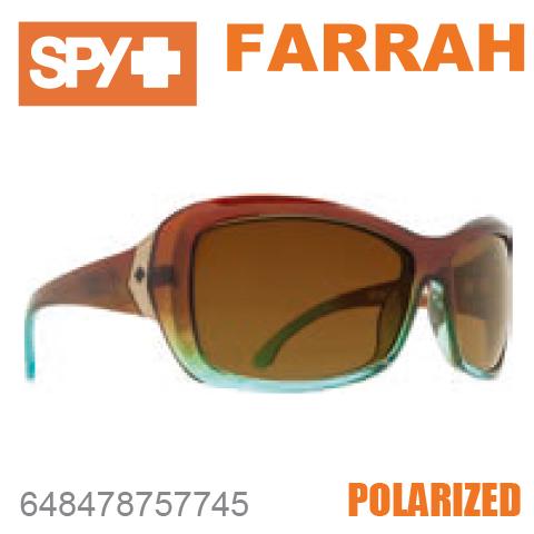 SPY スパイFARRAH ファラー648478757745MINT CHIPサングラス レディース スポーツ ファッション オシャレ 偏光レンズ