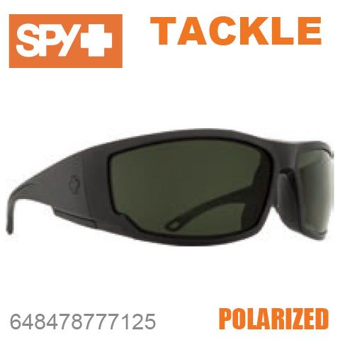 SPY スパイTACKLE タックル648478777125MATTE BLACKサングラス メンズ レディース ユニセックス スポーツ ファッション オシャレ 偏光レンズ