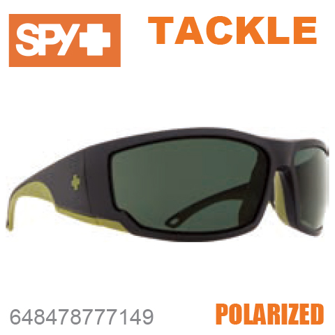 SPY スパイTACKLE タックル648478777149MATTE BLACK / OLIVEサングラス メンズ レディース ユニセックス スポーツ ファッション オシャレ 偏光レンズ