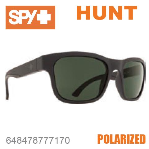SPY スパイHUNT ハント648478777170MATTE BLACKサングラス メンズ レディース ユニセックス スポーツ ファッション オシャレ 偏光レンズ