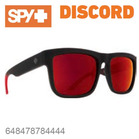 SPY スパイDISCORD ディスコード648478784444SOFT MATTE BLACK / RED FADEサングラス メンズ レディース ユニセックス スポーツ ファッション オシャレ