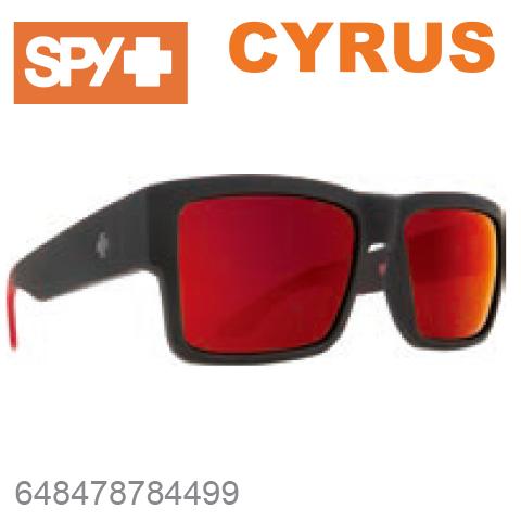 SPY スパイCYRUS サイラス648478784499SOFT MATTE BLACK / RED FADEサングラス メンズ レディース ユニセックス スポーツ ファッション オシャレ