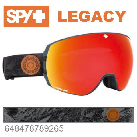 SPY スパイLEGACY レガシー648478789265ジャパンフィットフォーム バックル式ストラップSPY + DANNY LARSENスキー スノーボード スノボ ゴーグル