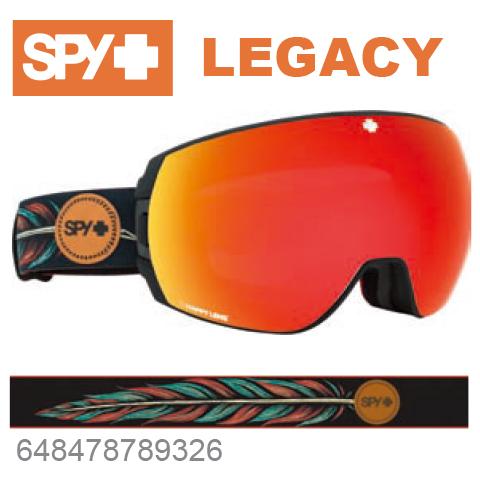 SPY スパイLEGACY レガシー648478789326ジャパンフィットフォーム バックル式ストラップSPY + WILEY MILLERスキー スノーボード スノボ ゴーグル