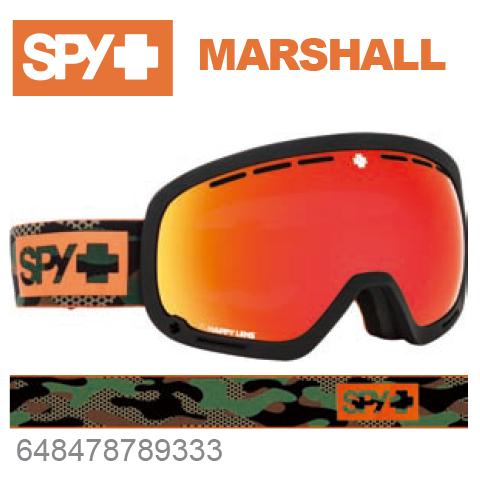 SPY スパイMARSHALL マーシャル648478789333ジャパンフィットフォーム バックル式ストラップCAMOスキー スノーボード スノボ ゴーグル