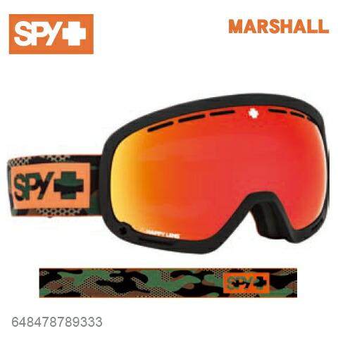 SPY スパイMARSHALL スパイMARSHALL ゴーグル マーシャル648478789333ジャパンフィットフォーム バックル式ストラップCAMOスキー スノーボード スノーボード スノボ ゴーグル, Eタイヤショップ:910f5e99 --- officewill.xsrv.jp