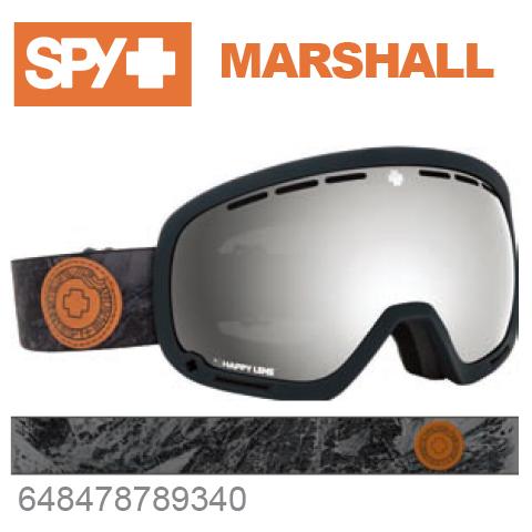 SPY スパイMARSHALL マーシャル648478789340ジャパンフィットフォーム バックル式ストラップSPY + DANNY LARSENスキー スノーボード スノボ ゴーグル