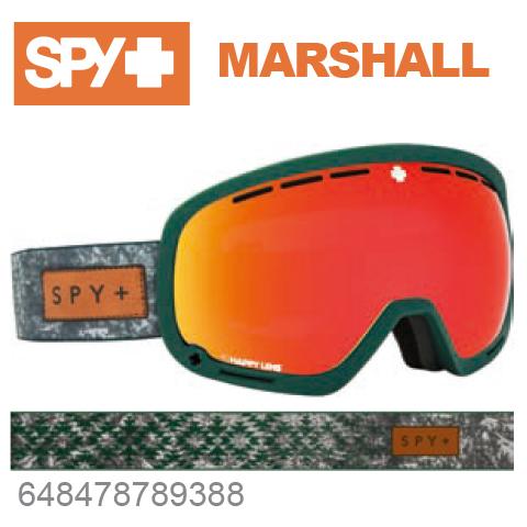 SPY スパイMARSHALL マーシャル648478789388ジャパンフィットフォーム バックル式ストラップSPY + NATIVE NATURE GREENスキー スノーボード スノボ ゴーグル