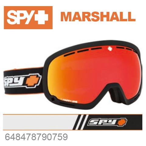 SPY スパイMARSHALL マーシャル648478790759ジャパンフィットフォーム バックル式ストラップOLD SCHOOL BLACKスキー スノーボード スノボ ゴーグル