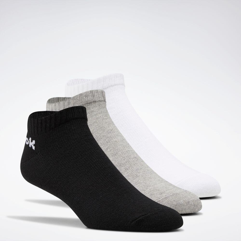 セール価格 Reebok リーボック アクティブ コア 18%OFF ローカット ソックス 3足組 Active Core Low-Cut メンズ FL5225 レディース 高品質 返品可 Pairs トレーニング 3 公式 Socks アクセサリー