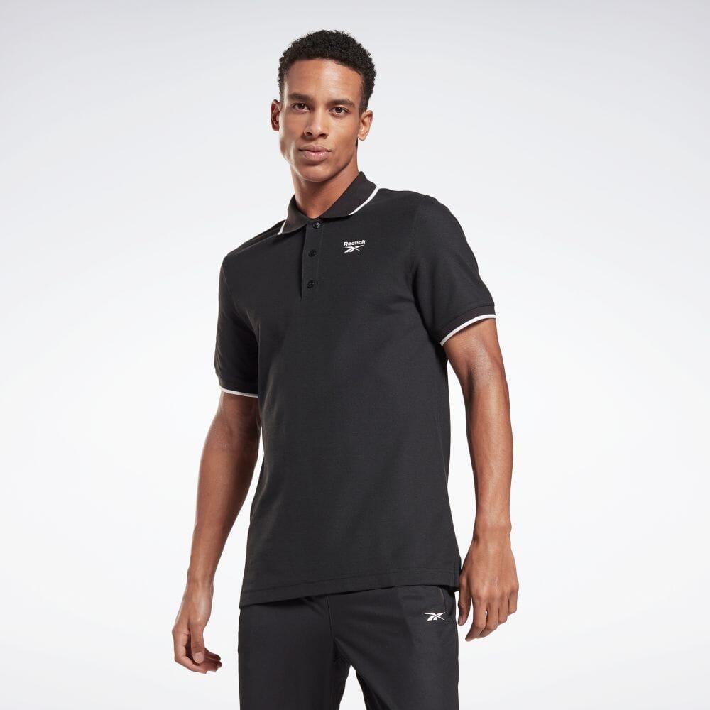 セール価格 Reebok リーボック トレーニング エッセンシャルズ お得セット ポロシャツ Training 輸入 Essentials FP9173 Polo 服 返品可 ウェア Shirt メンズ 公式
