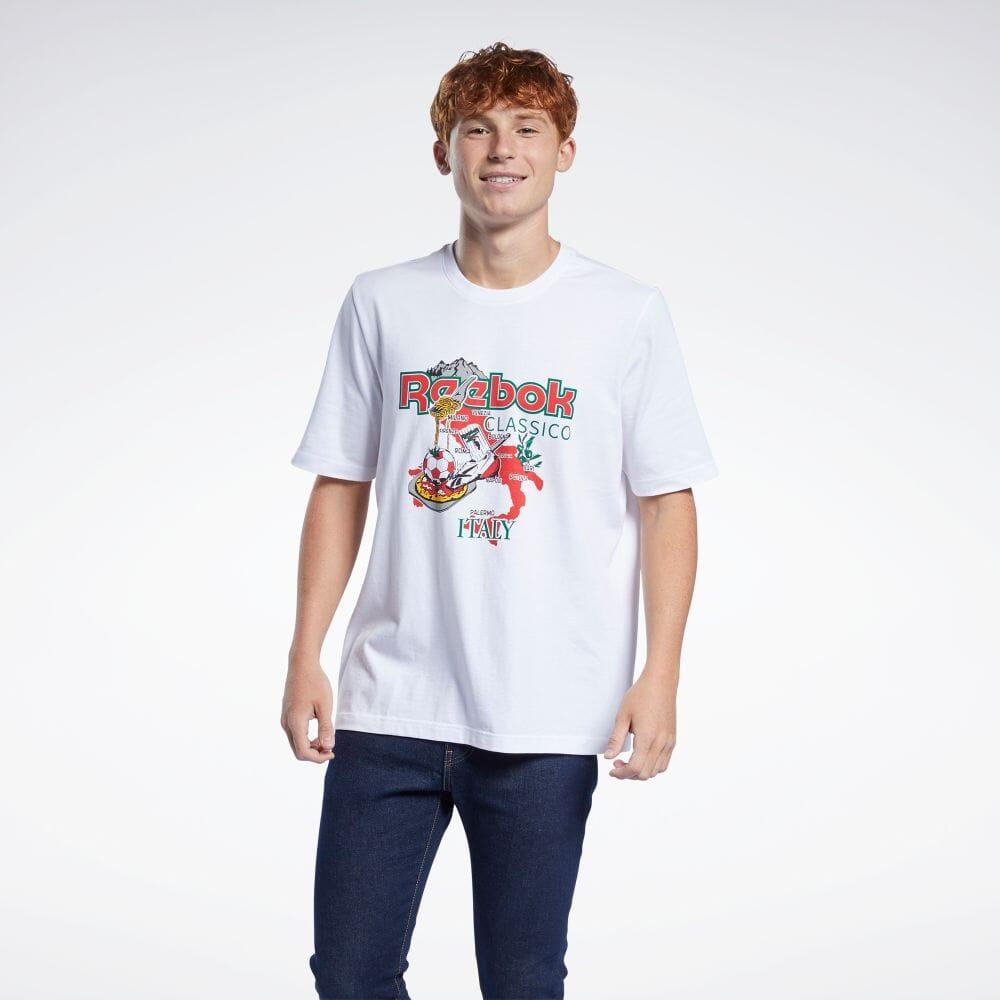 激安価格と即納で通信販売 セール価格 Reebok リーボック クラシックス アウトレットセール 特集 Tシャツ Classics T-Shirt summersale0809 ウェア メンズ GN3666 クラシック 服 返品可 公式