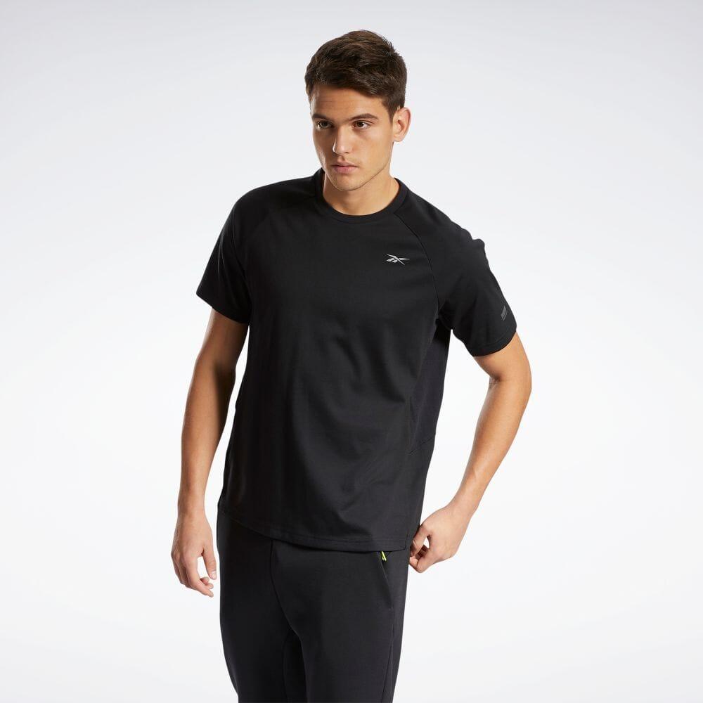 送料無料 Reebok リーボック DMX トレーニング ショート スリーブ Tシャツ Training Short H52820 セール品 T-Shirt レディース メンズ 公式 服 Sleeve 価格 返品可 ウェア