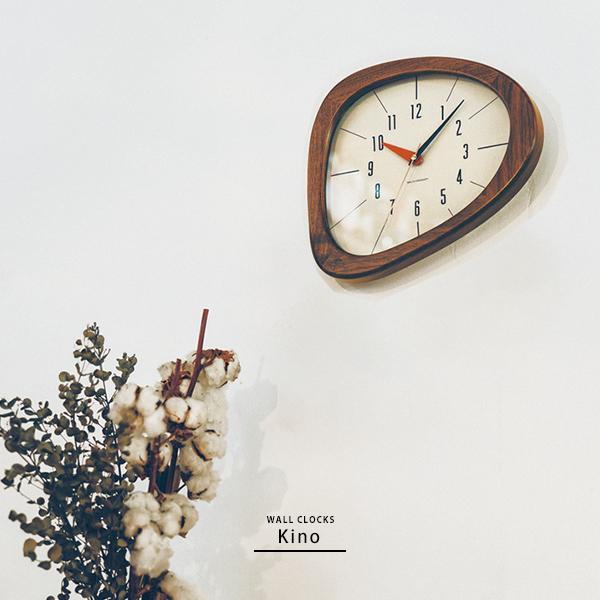 壁掛け時計 掛け時計 掛時計 円形 丸型 ナチュラルテイスト ナチュラルカントリー シンプル 北欧 カフェ おしゃれ モダン ミッドセンチュリー かわいい 木目 木製 ウッド 静か スイープムーブメント