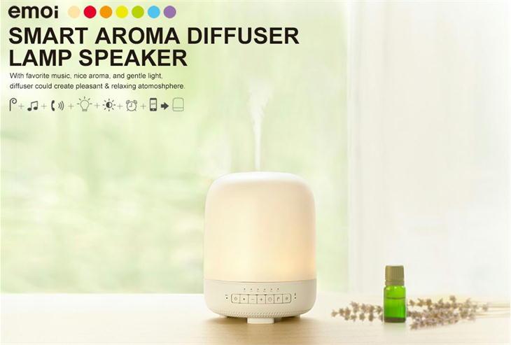 emoi スマートアロマディフューザーランプスピーカー H0027 smart aroma diffuser lamp speaker エレス