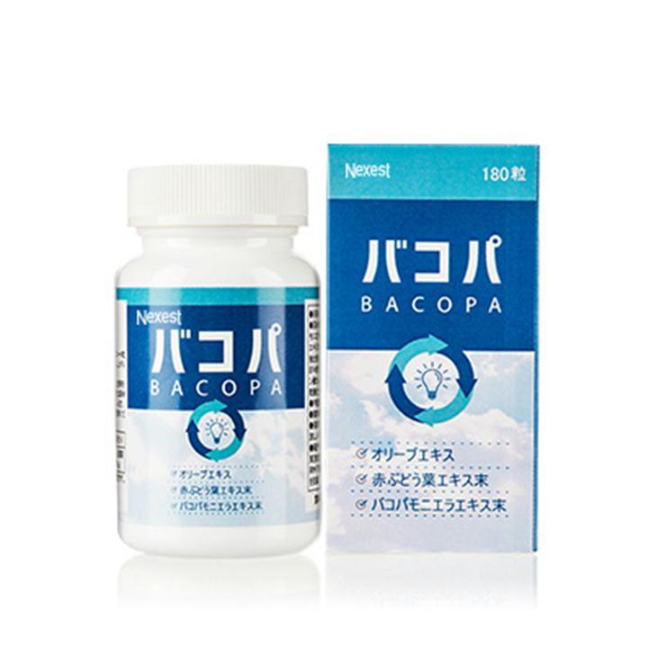 バコパ BACOPA 180粒 サプリメント 日本製 バコパモニエラエキス