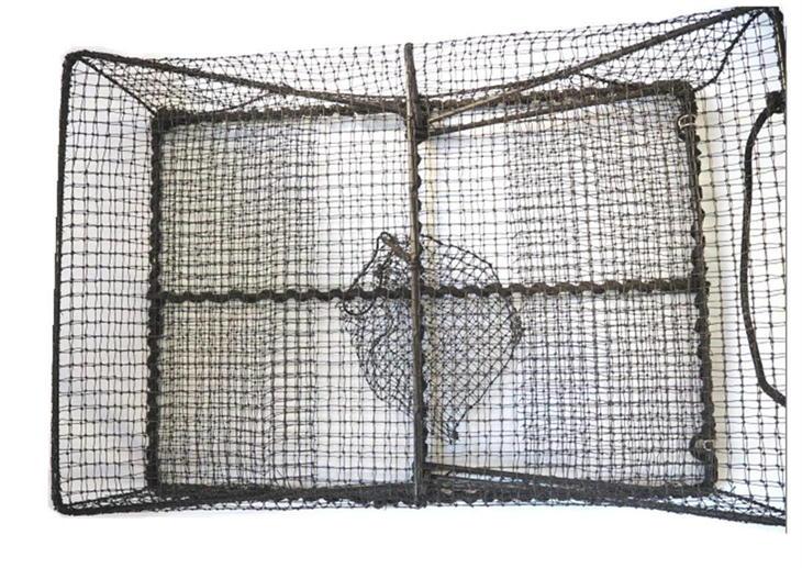 さがみや漁網店 籠網(黒) 漁具 かご網 魚仕掛け 漁網 日本製 G-11