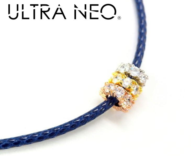 ウルトラネオ 磁気ネックレス 60cm 3色チャーム付 管理医療機器 レディース