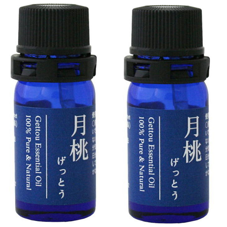 月桃 精油 エッセンシャルオイル 2.5ml(青)×2本セット シマ月桃 日本月桃