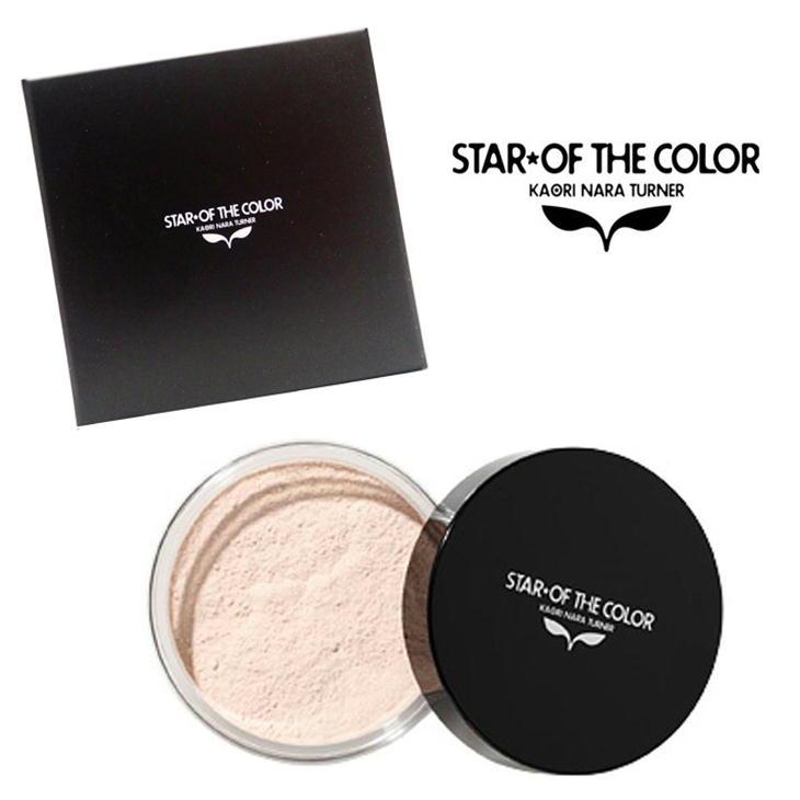 スターオブザカラー フェイスパウダー(大) 17g パフ付 STAR OF THE COLOR 化粧 メイク 美容