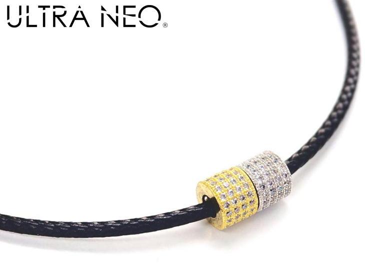 ウルトラネオ 磁気ネックレス ゴールド×シルバーチャーム付 ULTRA NEO ウルトラNEO レディース 女性