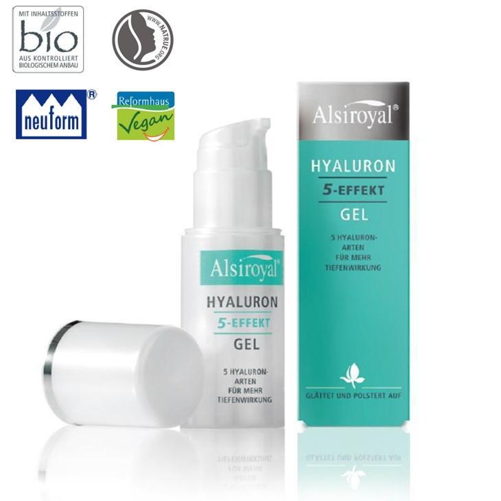 アリシロイヤル ヒアルロンゲル+5 30ml ドイツ アルシタン社 Alsiroyal レホルム製品 ヴィーガン認定化粧品