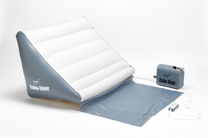 今 お使いのベッドやお布団がまるで電動ベッドのように エアーリクライニングマット ラクライナー 起床補助 介護 楽ライナー リクライニング 再入荷/予約販売! 電動 売れ筋ランキング 高齢者
