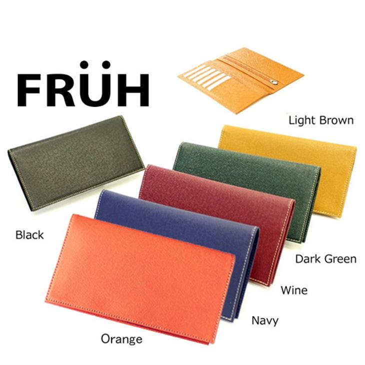 FRUH フリュー スマートロングウォレット GL013 牛革/長財布/薄型財布/日本製
