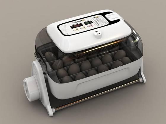 信憑 鳥類専用孵卵器 定番から日本未入荷 ふ卵器 鶏24個 うずら60個自動電子コントロール たまぴょ20 R-COM 20 SURO