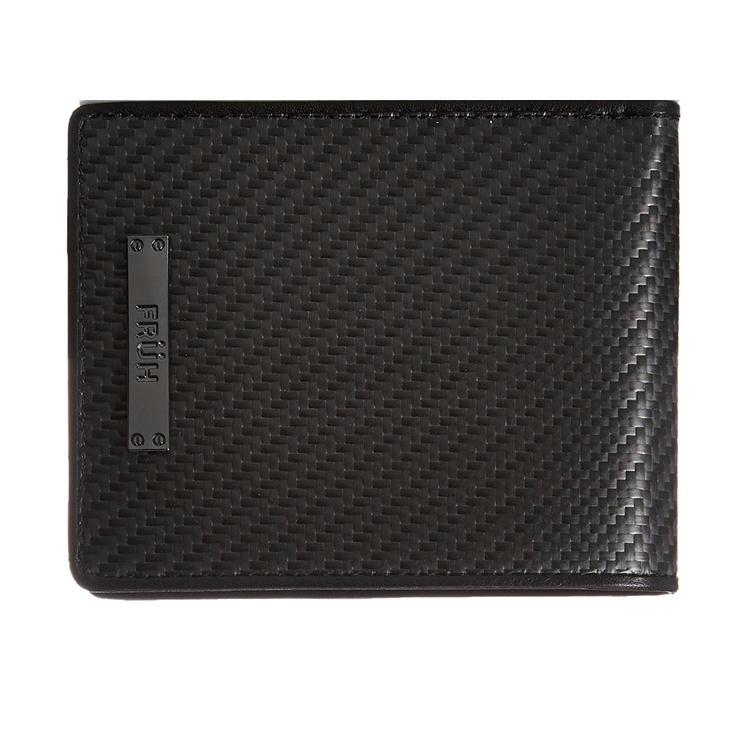 フリュー FRUH リアルカーボン ショートウォレット GL027 2つ折り財布