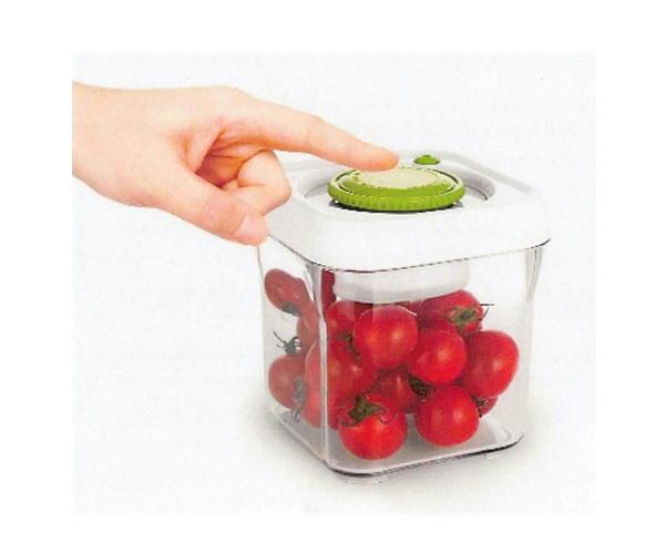 ポンプフレッシュ 4点セット ポンプ式真空容器 特許取得 3847280 食品の保存に ※メーカー直送 代引不可