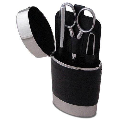 日本橋木屋 オリジナルグルーミングキット KIYA缶 ビクトリノックス/アドラー/つめ切り/鋏/耳かき/ツールナイフ/毛抜き
