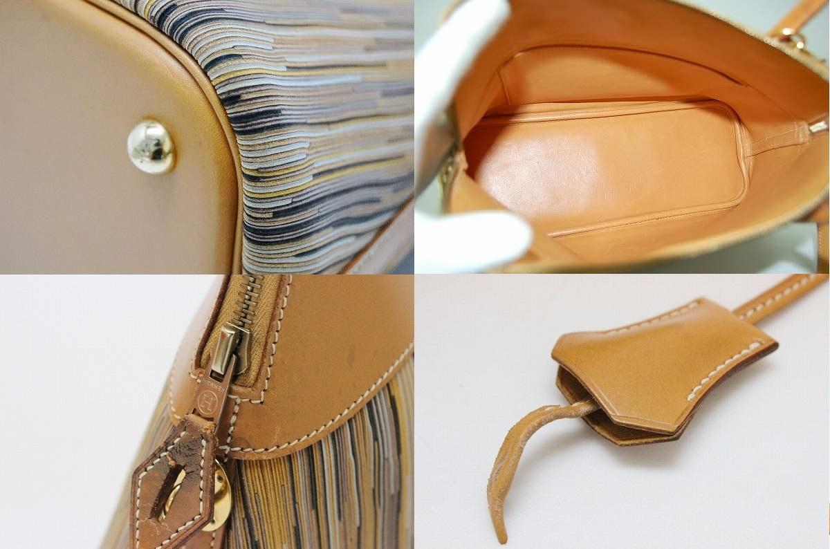 """31. Hermes handbags""""boring"""" vibrato x D ever-fs3gm with shoulder strap ヴァッシュナチュラル"""