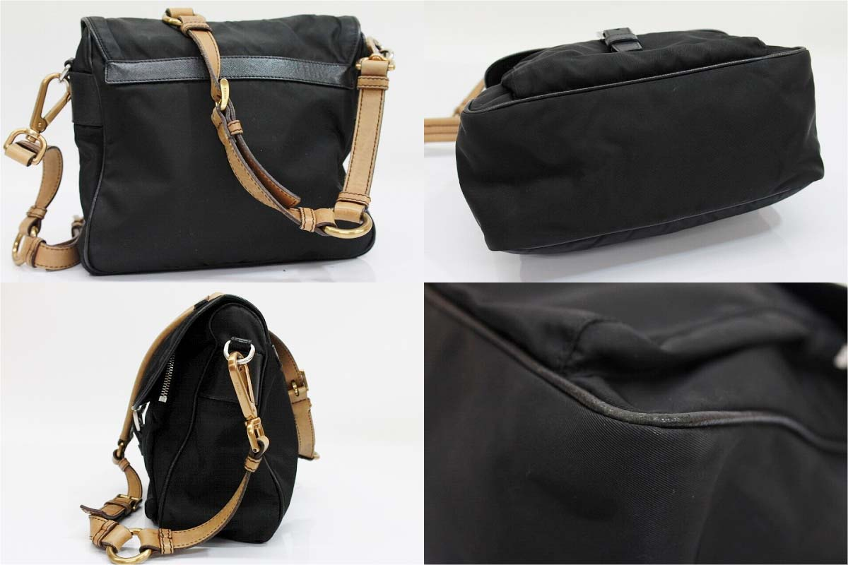 》 fs3gm which there is PRADA nylon slant credit shoulder bag black reason in for 《