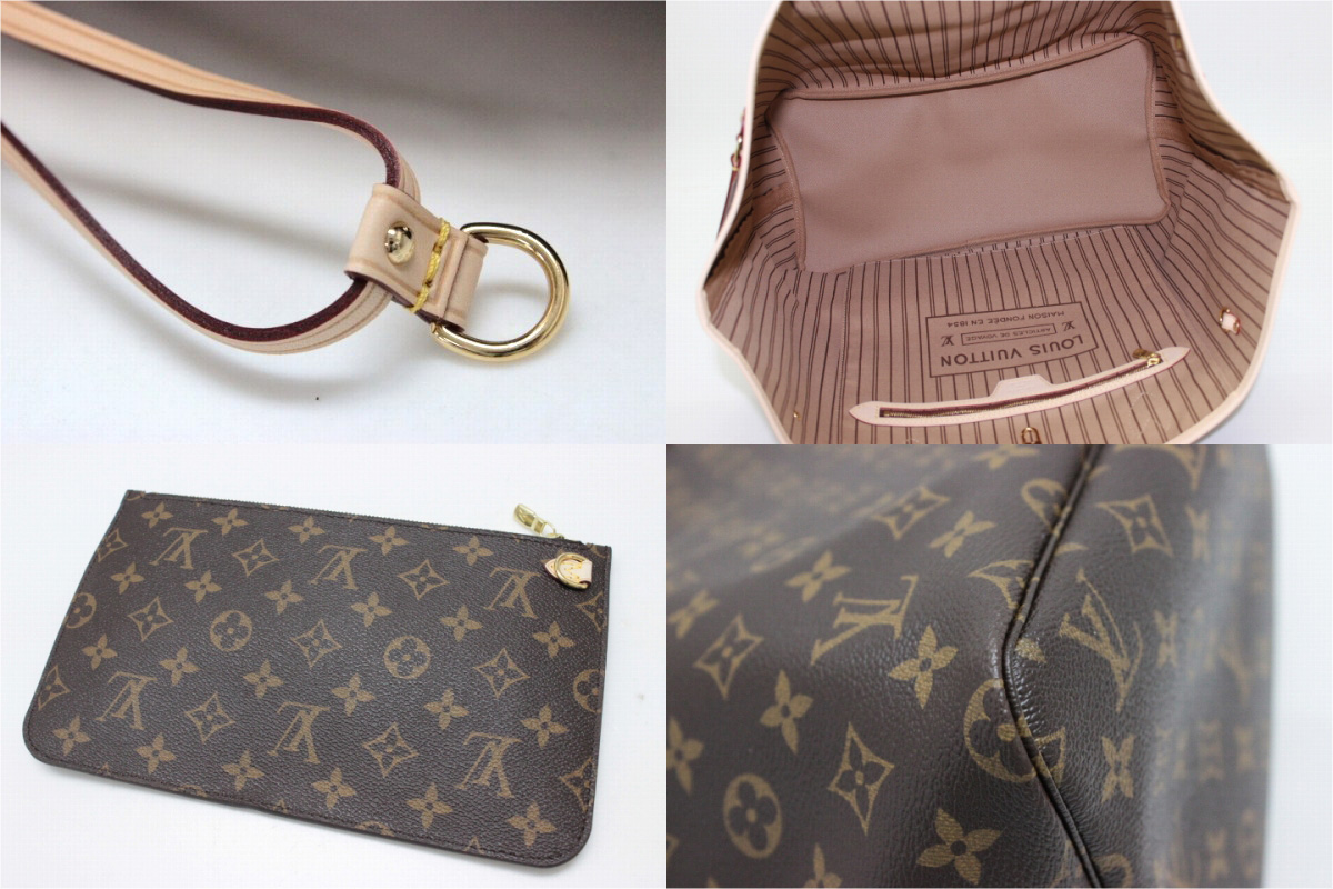 "LOUIS VUITTON Louis Vuitton Monogram ""neverfull GM"" tote bag m90990 unused KK"