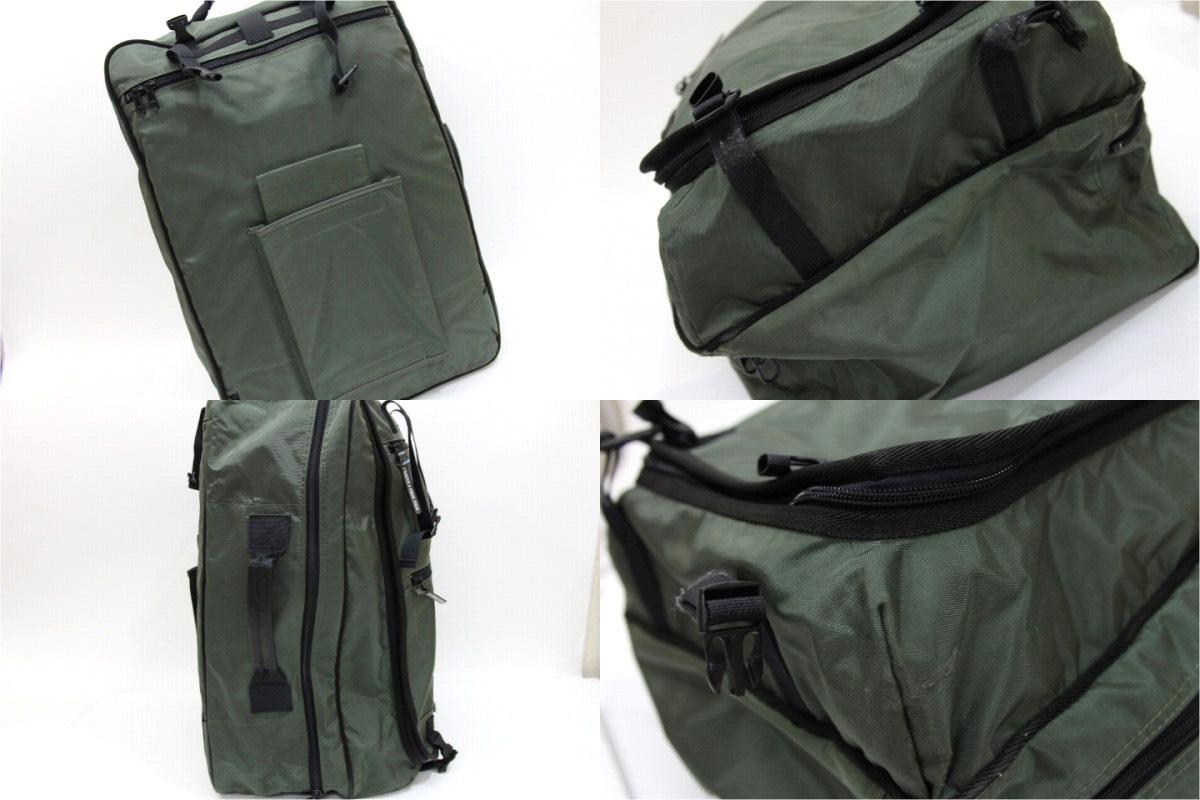 イザック Y'SACCS + pour tous 3WAY carrier bag khaki 》 02P02Aug14 for 《