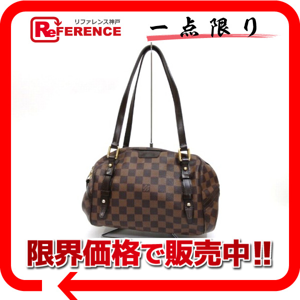 LOUIS VUITTON ルイ・ヴィトン ダミエ リヴィントンPM ショルダーバッグ N41157 【中古】