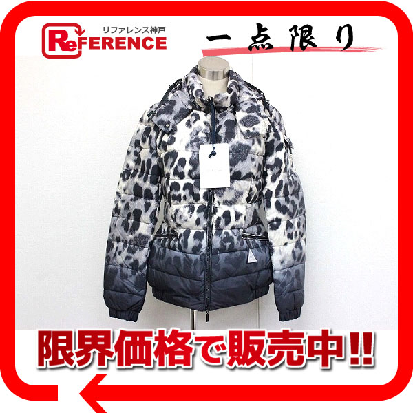 8762cd646ae2 ... print padded jacket 04d9c 05a90; get moncler saby ladies hooded down  jacket leopard 1 white black gray unused b3296 4b343