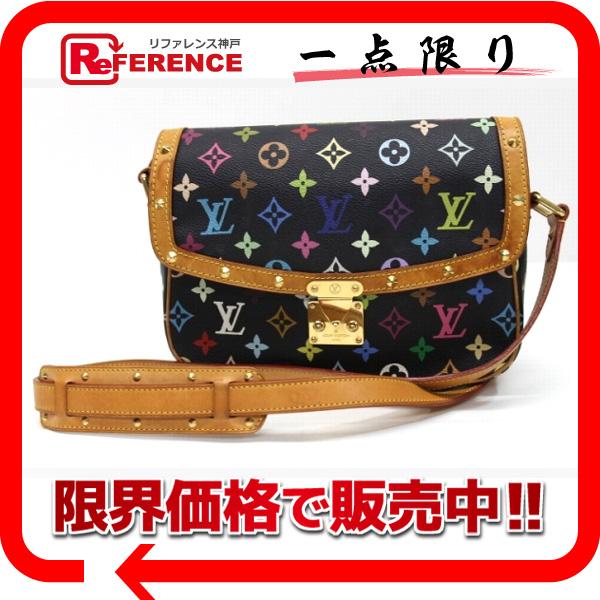 """Louis Vuitton Monogram multicolor """"Sologne"""" shoulder bag Noir M92639 """"enabled."""""""