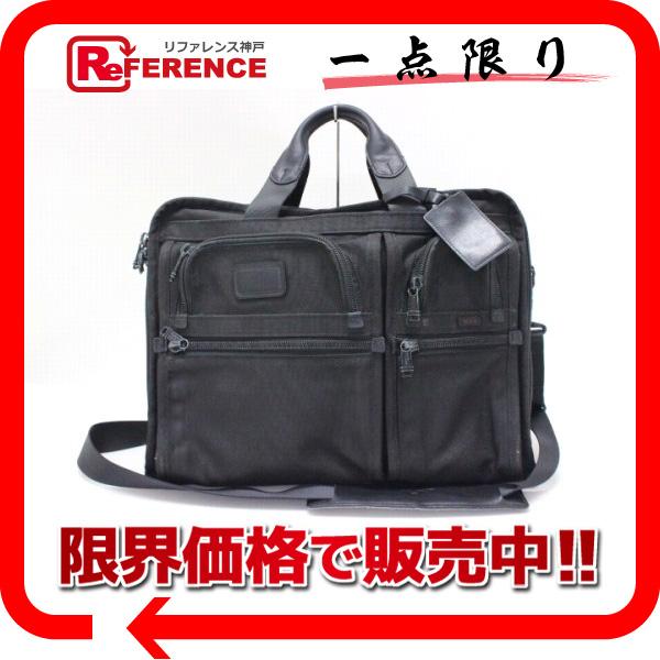 TUMI トゥミ ナイロン 2WAYビジネスバッグ ハンドバッグ ショルダーバッグ ブラック 【中古】
