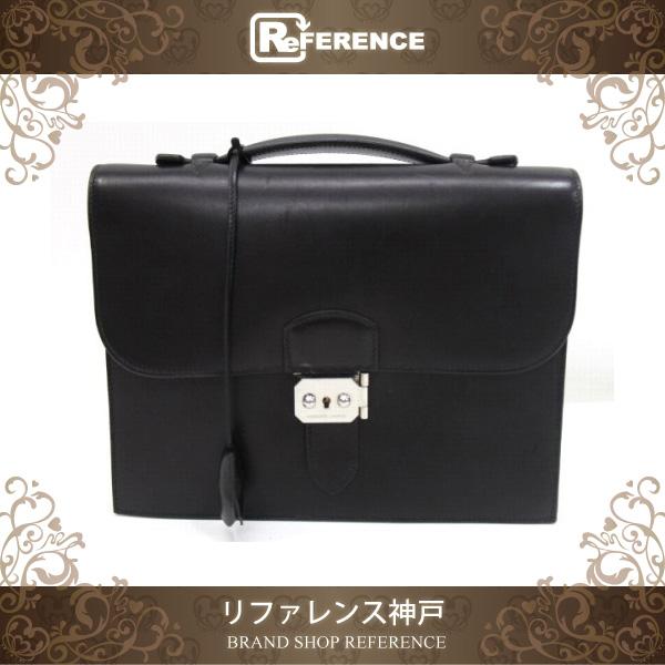 b7f75368491 ... hardware 155 0edf2 26b75 promo code for hermes sac a depeche 27 briefcase  business bag veau barenia black silver metal inexpensive hermes black kelly  ...