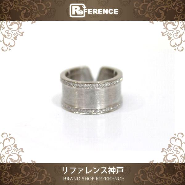 Cartier カルティエ 2C フルエッジ ダイヤ リング 49 仕上げ済み新品同様 【中古】  KK