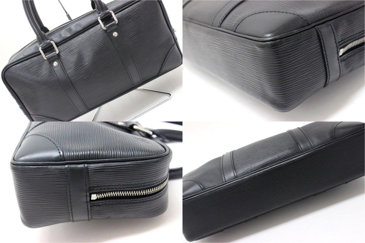 Vivienne Ron Louis Vuitton Epi Leather Handbags Noir M59112 Used
