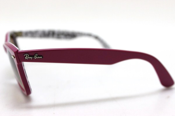 ceee163d6a6 ... closeout ray ban ray ban special series 3 wayfarer sunglasses pink  white x black rb2140 0601
