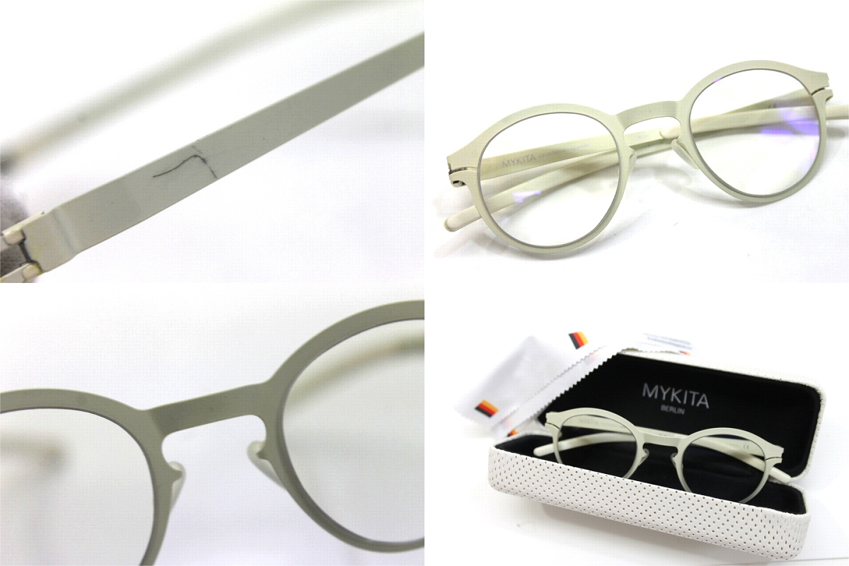 MYKITA mykita JOHANN ° with glasses metal ivory KK pre